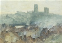 durham cathedral by j.s. hutton