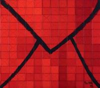 grande enveloppe rouge by renée niklan