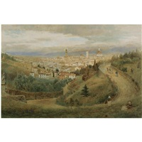 a view of florence by harry goodwin