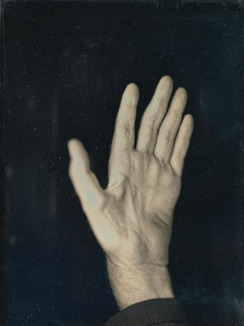 hand ii by chuck close