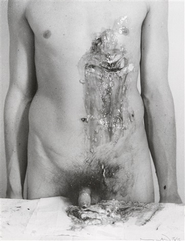 aktionsfoto by hermann nitsch