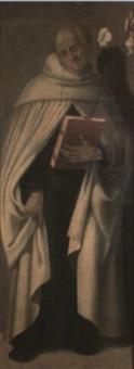 santo obispo by andrea sabbatini