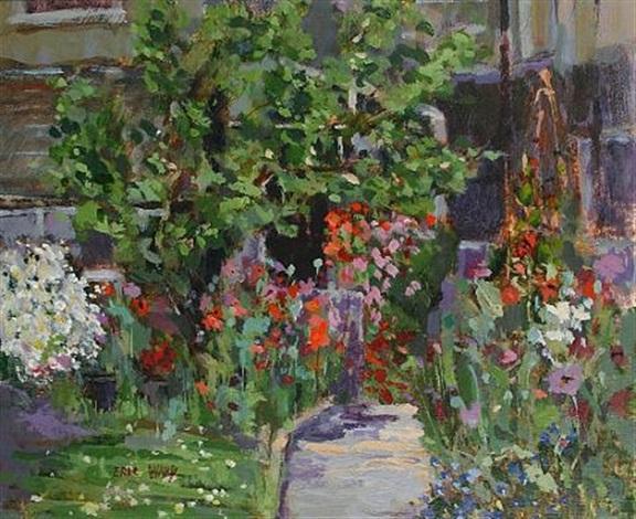 the artist's garden (+ eden; 2 works) by eric ward