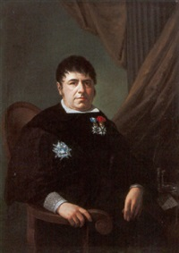 retrato de caballero by vicente rodés y aries