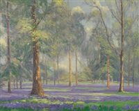 bluebells by augustus william enness