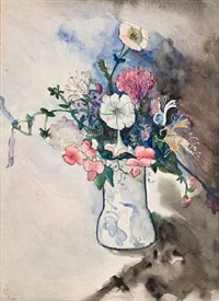 still life: flowers by alice neel