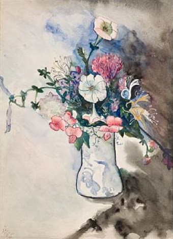 still life flowers by alice neel