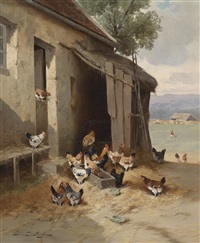 der hühnerhof by jules-g. bahieu
