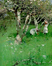 a cornish orchard by frank richards