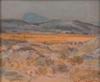 mountainous landscape by piet (pieter gerhardus) van heerden
