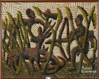 scène de chasse by kibwanga mwenze
