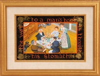 the way to a man's heart is through his stomach by elizabeth mumford