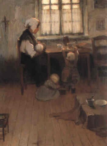 family scene by james peter quinn