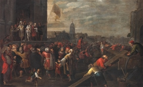 jesús ante pilatos by frans francken the younger