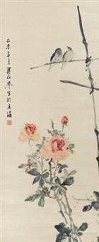 花鸟 by liang boyu