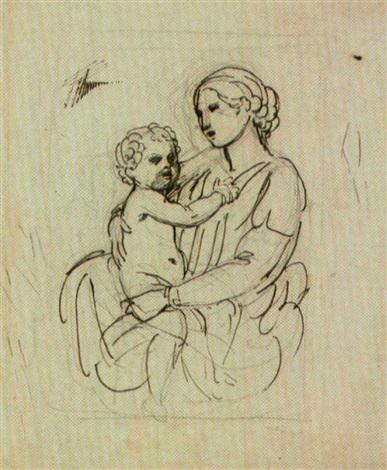 madonna con il bambino by andrea appiani