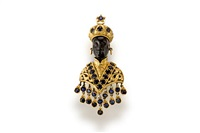 a blackamoor brooch by g. nardi