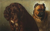 two dogs by otto bache