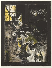 chauve souris by graham sutherland