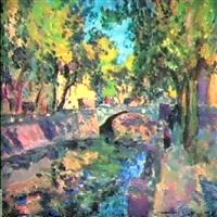 canal krukov a saint-petersbourg by alexei sokolov