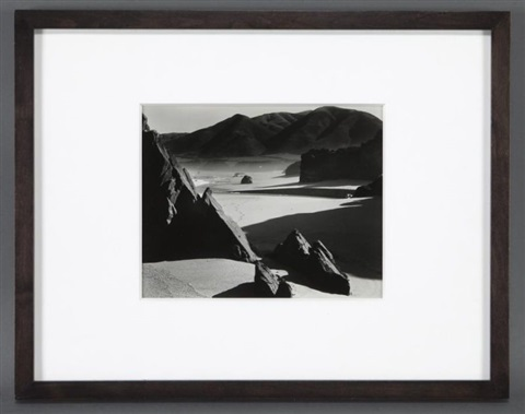 garrapata beach from the fifteen photographs portfolio by brett weston