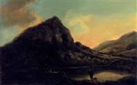 eagle's nest, lower lake killarney by william ashford