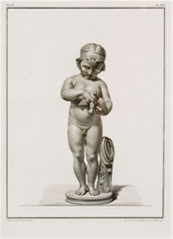 scene con putti set of 12 works from illustrazioni demonumenti collab w giovanni brunetti da ravenna by bernardino nocchi