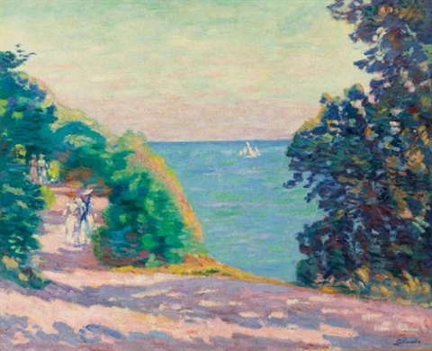 saint palais by armand guillaumin
