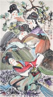 調樂圖 cheng shifa musicians by cheng shifa