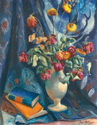 stillleben mit blumen (still life with flowers) by eugen ammann