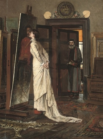 the artists studio by charles napier kennedy