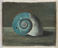 untitled (snail) by gertrude abercrombie