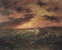 bateau dans la tempête by jean-baptiste duffaud