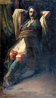 portrait of pirate by william speer