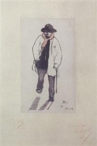 paul verlaine by frederic-auguste cazals