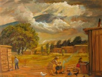 gringo's yard by lloyd lozes goff