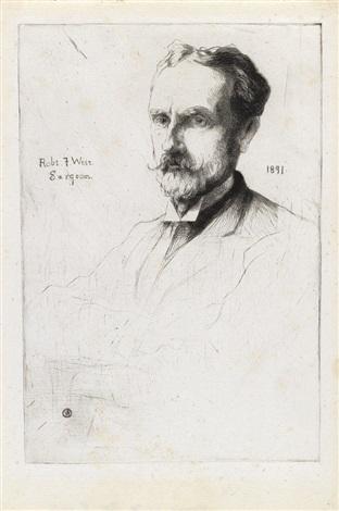 julian alden weir portrait of dr robert f weir julian alden weir by julian alden weir