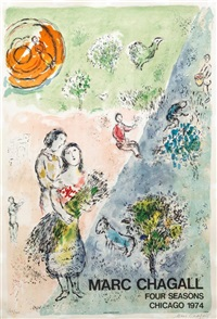 the four seasons by marc chagall
