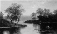 esopus creek by hugo melville fisher