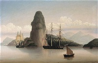 shipping off rio de janeiro by george atkinson