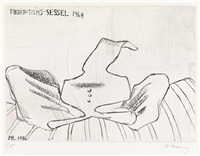 meditations-sessel by maria lassnig