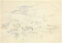 la montagne sainte-victoire by paul cézanne