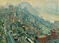 mountain city chongqing by liu guoshu