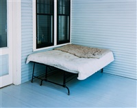 charles lindbergh's boyhood bed, little falls, minnesota by alec soth