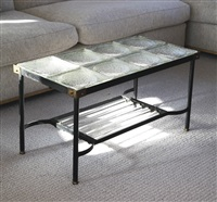 coffee table by jacques adnet