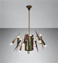 unique chandelier by leoncillo leonardi
