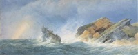 a wreck off the gower coast by edward duncan
