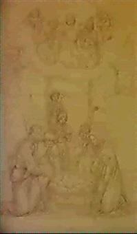 anbetung des hirten by franz kadlik