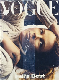 fall's best (vogue italia, november 1999) by sylvie fleury