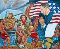 obama, l'espoir des opprimés by alfi alfa